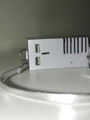 USB para fonte e bateria externa